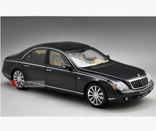 AUTOart Maybach 57 S 57S 1:18 AA car model alloy metal diecast Ultra-luxury car Benz Classic cars Limited Collector gift toy boy