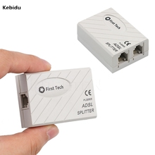 New Telephone RJ11 Line ADSL Modem Micro Filter Splitter Broadband Phone Line PJ 2003(China)
