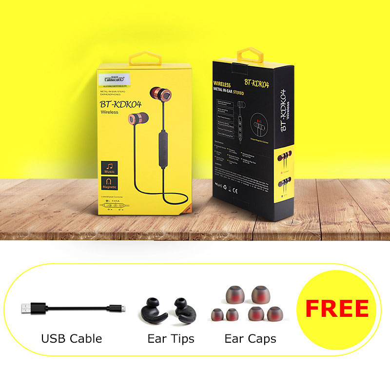 Bluetooth 4.1 Earphone In-Ear Running ecouteur Bluetooth Sport Waterproof Wireless Ear buds Magnetic High Quality for Android