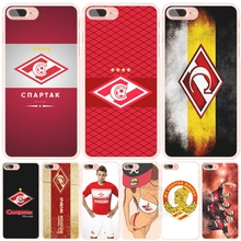 spartak moscow football cell phone Cover case for iphone 6 4 4s 5 5s SE 5c 6 6s 7 plus case for iphone 7