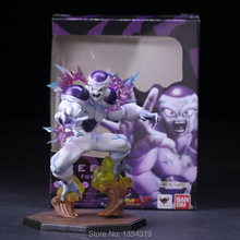 2017 new anime dragon ball felisaz Frieza pvc action figure fighting change soul defining zero final form kids model toys hot(China)