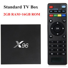 Hot X96 Android 6.0 TV Box Amlogic S905X Max 2GB RAM+16GB ROM WIFI HDMI 4K*2K HD Smart Set Top BOX Media Player PK A95X TV Box