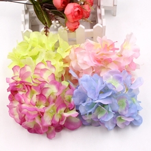 BIG Artificial Hydrangea Silk Flower DIY Decorative Flower for Wedding Party Birthday Valentine's Day Decoration Table accessori