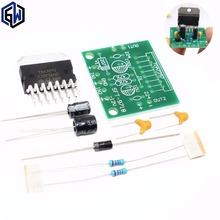 TENSTAR ROBOT 1set TDA7297 amplifier board spare parts dc 12v grade 2.0 dual audio encoding 15w electronic diy kit(China)