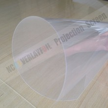 Free delivery NEW VRSION Self-Adhesive Transparent Rear Projection Film for hologram display 1.524 X 10 Meters