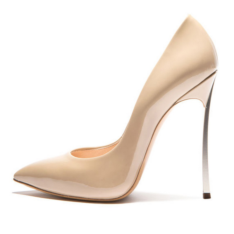 2016 Brand Shoes Woman High Heels Women Pumps Stiletto Thin Heel Womens Shoes Pointed Toe High Heels Wedding Shoes size 35-42<br><br>Aliexpress