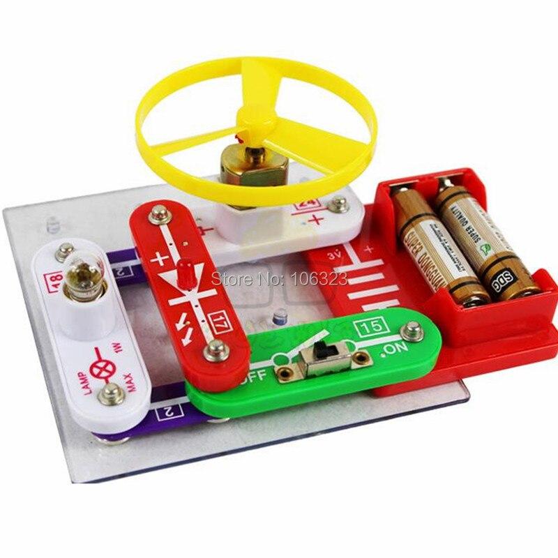 Teacher Wang W-35, Smart Electronic Block Kit, Children Building Blocks, Innovation Educational Appliance, Kid Assembling Toys<br><br>Aliexpress