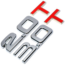 HOT Car 3D Metal 2.0 3.0 2.0T 3.0T T Logo Sticker Emblem Badge Decals for Mazda KIA Renault TOYOTA BMW Ford Focus Car Styling(China)