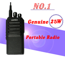2017 Newest High Power 25W Handheld Note Radio VR-20HX Powerful Walkie Talkie UHF Radio QYT KT-8900 Comunicador Two Way Radio