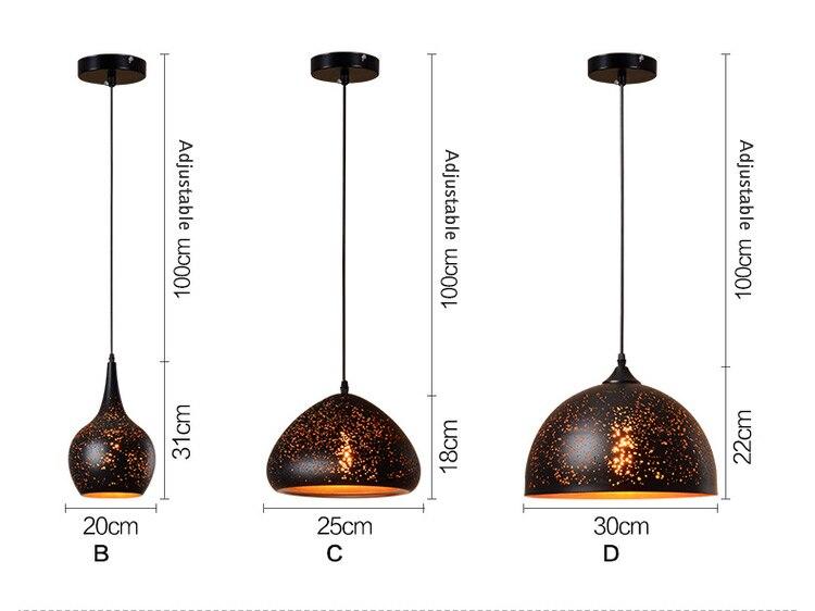vintage pendant lamps (6)