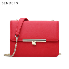 Sendefn Fashion Leather Women Messenger Bags Women Shoulder Bags Ladies Satchels Women Handbags Crossbody Bags(China)