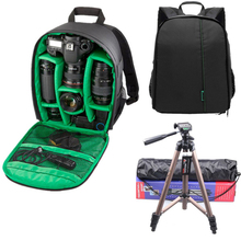 Best quality Coloful Waterproof Multi-functional Digital DSLR Camera Video Bag Small DSLR Camera Bag Backpacks for Photographer(China)
