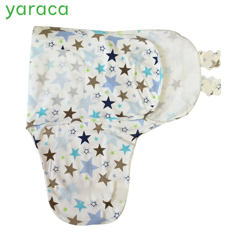 Baby Swaddle Wrap Envelope for Newborns Pure Cotton Sleeping Bag For 0 to 3 Month Baby