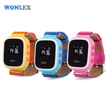 Wonlex Anti Lost Tracker Kids GPS Watch For Kids SOS Emergency GSM GPS Smart Mobile Phone Setracker App For IOS & Android