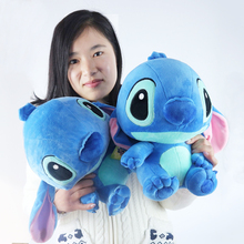 CXZYKING Kawaii Anime Stitch Plush Toys 30cm Lilo and Stitch Plush Puzzle Baby Toys Stuffed Animal Doll Kids Toys For Children