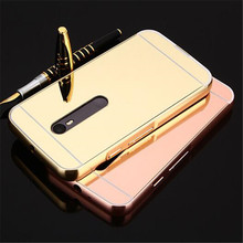 Fashion Luxury Rose Gold Mirror Case For Moto G3 shell Back Cover For Motorola Moto G 3rd gen/Moto G Gen 3/Moto G3