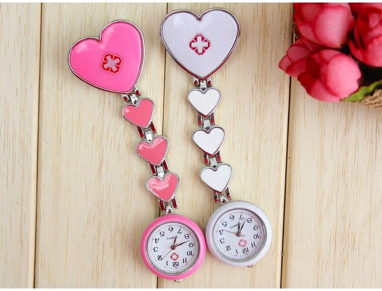 Brand New Fashion Doctor Watch Fob Heart Nurse Brooch Pin Pendant Pocket Quartz Watch GL13<br><br>Aliexpress
