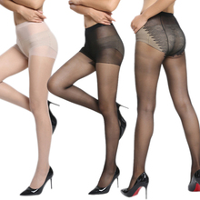 Buy Spring Autumn Sexy Women Ice Crystals Silk Tights Seamless Stockings Super Elastic Thin Pantyhose Sexy Nylon Stockings H -MX8