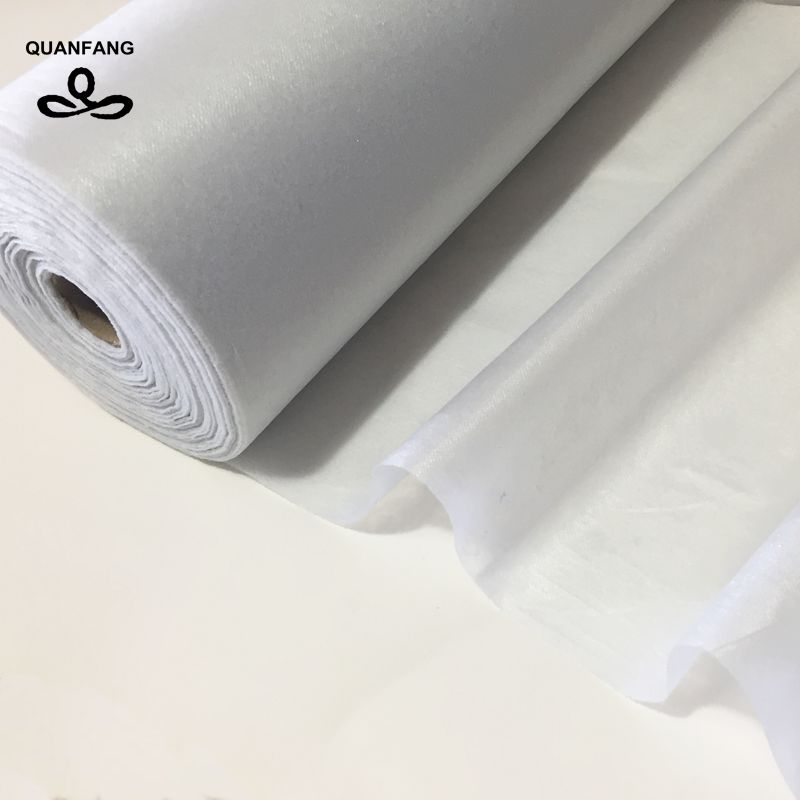 QUANFANG lining fabric single faced adhesive fabric DIY Fabric accessories cloth patchwork Need use electri lro 50x100cm