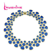 Kayshine Black Friday Fashion Statement Necklace Designer Jewelry Colorful  Enamel Bubble Bib Choker Necklaces Collares Mujer