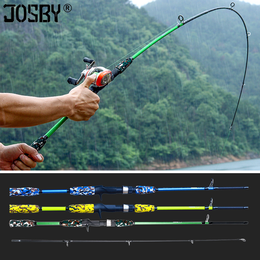 Spinning Casting Hand Lure Fishing Rod Pesca Carbon Pole Canne Carp Fly Gear Reel Seat feeder Ultralight Mini Travel Surf 1.8M title=