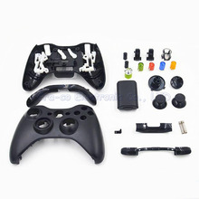 10set/lot Repair Parts game console Housing Case Shell with Full Buttons Accesories kits for xbox 360 xbox360 Controller(China)