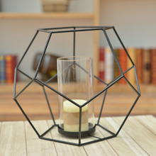 Modern Iron Candle Holders Home Decoration Candle Stand Handmade Iron Candle Holder Wedding Decorative Candle Holder Candelabra