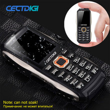 Mini Rugged Phone Smallest Cectdigi T8600 Dual Sim Military Power Bank mobile Phone Double flashlight FM russian keyboard phone(China)