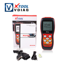 Free shipping xtool PS100 EOBDII CAN OBDII Scanner PS 100 Electrical System Diagnostic ps100 scanner like creader vi