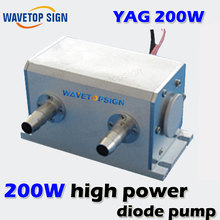 1064nm 200W High Power Diode Pumped Nd: YAG Laser Cavity size 130*64*72MM(China)