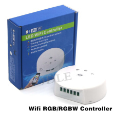 DC12-24V RGB RGBW Wifi Bluetooth LED Controller,Timing Function, Group Control, Music Mode, apply to IOS/Android