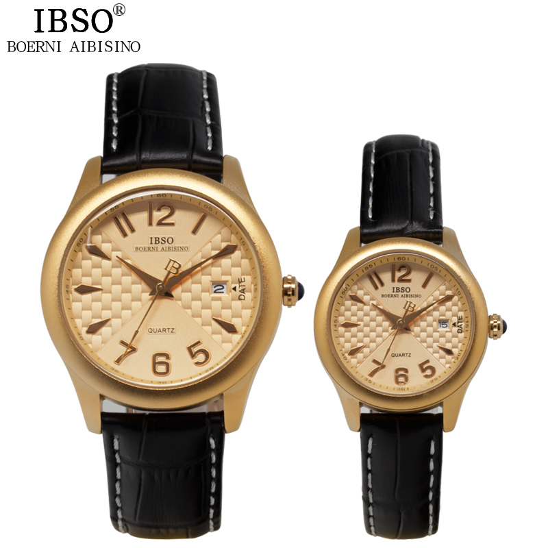 IBSO Fashion Business Multifunction Couples Watch Casual Travel High Quality Watch The Men Luxury Party Relojes De Mujer 2016<br><br>Aliexpress