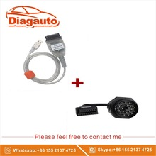 The wholesale price and For BMW INPA/Ediabas OBD & ADS Interface with 20pin OBD1 to OBD2 Female Adapter Cable