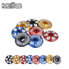 Aluminum Alloy MTB Mountain Road Bikes Bicycles Ultra-light Multicolour Headset Head Cover Cap Parts Headset Group cover(China)
