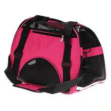 New Dog/Cat Soft Sided Comfort Travel Tote Bag For Pet Carrier Removeable hard plate, make your pet stand stable inside