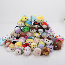 Tsum Tsum Plush doll Duck elf Screen Cleaner juguetes Snow white Mermaid Cinderella Alice inside out Stuffed animal Plush toy