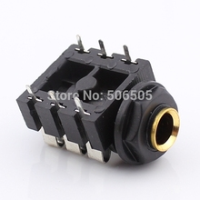 3Pins 6.5mm RCA socket Connector audio socket  6.5mm Headphone socket 10pcs/lot