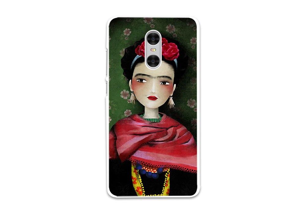 BiNFUL frida kahlo daft punk hard White phone Case Cover for Xiaomi Mi 6 5s 4c 4s for Xiaomi Redmi Note4 4X 3s 4A