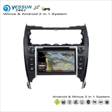YESSUN For Toyota Camry Europe 2012~2014 - Car Android Multimedia Radio CD DVD Player GPS Navi Map Navigation Audio Video System(China)