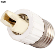 1x Fireproof Material E27 to G9 lamp Holder Converter Socket Conversion light Bulb Base type Adapter(China)