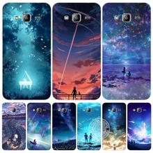 night landscape universe space cover phone case for Samsung Galaxy J1 J2 J3 J5 J7 MINI ACE 2017 2016 2015
