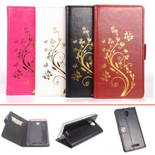 High Quality Dreamy  Luxury Retro Flip Leather Wallet ID Card Case Cover For XIAOMI REDMI NOTE 2 Freeshipping Wholesale P4