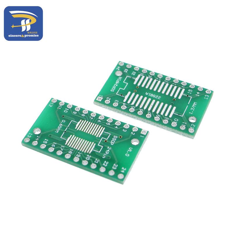 8PK SO SOP SOIC//SSOP 14//16//20 Pitch 0.65mm and 1.27mm to DIP Adapter Converter