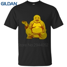 Loose red Clothing Oh My Buddha OMB OMG Spiritual Karma Laughing Happy Namaste Buddhist t shirt tee shirt Better