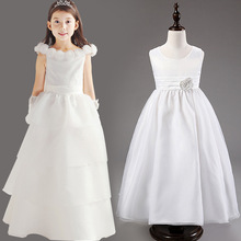 High Quality Flower Girl Dresses Princess Children Toddler Clothing Kid's Party Long Dress Baby Girls Clothes Hot Sale