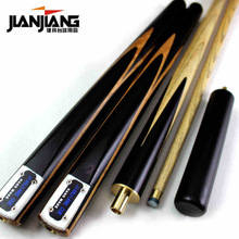 Brand Billiard pool Cue, Cue tip 9.5-9.8mm, 145cm, Ash wood, Handmade 3/4 Snooker stick, High Quality, Free shipping JJ01