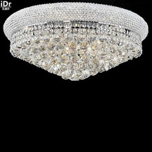 gold Ceiling Lights cast hall corridor lamp crystal lamp home lighting lamp modern lamp D60cm x H30cm(China)