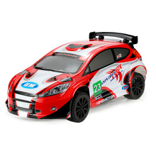 Original RX II 1/7 2.4G 4WD Electric Brushless High Speed RC Rally Racing Car with E8350 Engine Sound System(China)