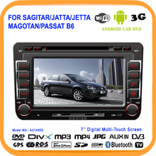 Car DVD Radio GPS Player Navigator Android 5.1 Car Tablet Bluetooth WIFI Touch Screen quad band TV For VW  Sagitar Before 2013