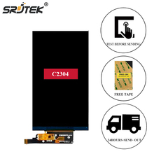 Srjtek For Sony for Xperia C Dual S39H S39 C2304 C2305 LCD Display Matrix Screen Inner LCD Screen Panel Lens For Sony S39H C2305